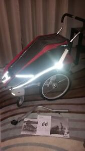 Cougar 1 Trailer and Stroller