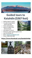 Gruided Tours to Mount Katahdin summit, Maine - from Fredericton