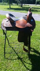 "New Price! 15"" Circle Y Pleasure/Trail Saddle"