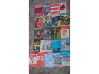 AFC Bournemouth (Away) Match Programmes from 1971 up to 2003 (21 in total)