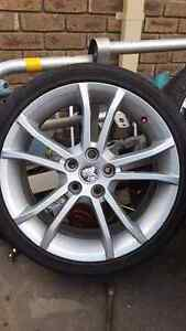 Set of 4 Holden Calais 19s predrilled. Narre Warren Casey Area Preview