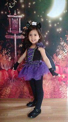 Nwt Fledermaus Fee Halloween Kostüm für Kinder, Größe 2t, 3t-4t ' Größe Wählen'