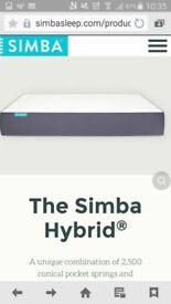 simba hybrid mattresses