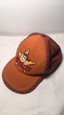Toy Story Disney Pixar Sheriff Woody Brown Cap Hat Toddler