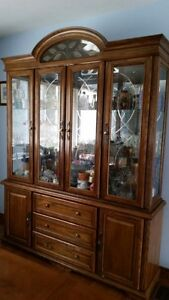 Table, chairs and hutch for sale Peterborough Peterborough Area image 2