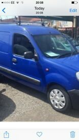 LOW Mileage VAN 53reg Renault KANGOO diesel van 1.9dci, new Mot , side door, £1195 ono