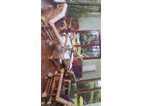 Beautiful Bamboo Conservatory Furniture Set