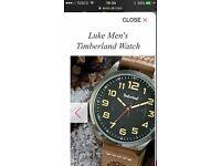 Brand new timberland men's watch