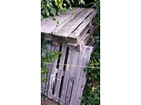 free pallets/wood
