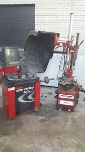Machine a pneus et Machine a balancer Coats U.S.A
