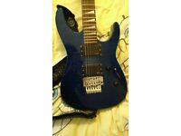 Jackson DX10D guitar with EMG 81/85