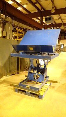Vestil Mfg Ehltt-2-47 Platform Lifttilt Table 2000 Lbs Capacity.