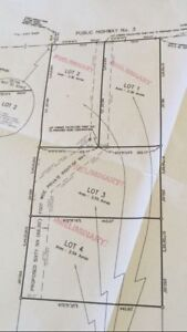 2.3 - 2.5 acres lots for sale, East River NS *Price reduced*