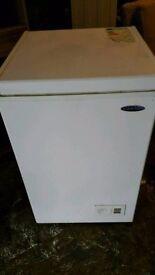 White Chest freezer box
