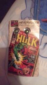 Hulk headphones