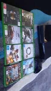 Xbox One Mint Conditon 200GB + 9 GAMES** Kingsley Joondalup Area Preview