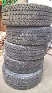 5 Tires - Michelin LTX A/T2 - 275/70 R18 M&S Prince George British Columbia image 3