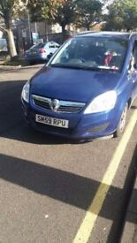 Vaxuall Zafira New Mot everything is fine. Vaxuall Zafira 1.6eco disel 2010 102000 miles 7 seats