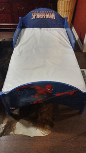 Spiderman Toddler Bed & mattress/slightly used