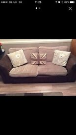 Matching 2 seater sofa and 2 seater sofa bed