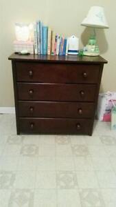 Crib, Change Table & Dresser