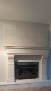 Biggest Sale 50%off +$200 Cashback Stone Fireplace Mantel Mantle Regina Regina Area image 3