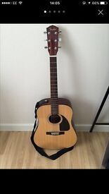 Fender CD-60 Guitar with a soft bag