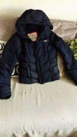 hollister jacket xs