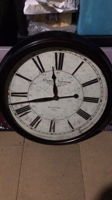 Large Clock From Tk Maxx In Roath Cardiff Gumtree