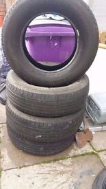 5 tyres like new Grand Cherokee 5 tyres for £30
