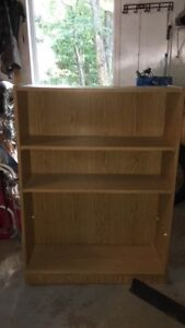 desk and bookcase for sale