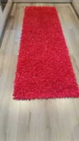 Hot pink sparkly hall runner