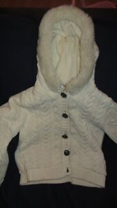 Gymboree White Jacket Size XS (3-4)