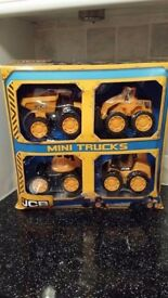 Brand New JCB Mini Trucks Set of 4