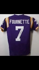 Leonard Fournette autographed jersey! Authenticated!!