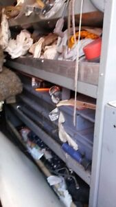 Full size Van Steel Shelving/cabinet for sale