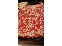 Brand new modren and stylish king size bedspread with same 2 pillow case and 1 cushion cover