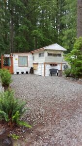 Trailer and membership for sale at Black Mountain Ranch