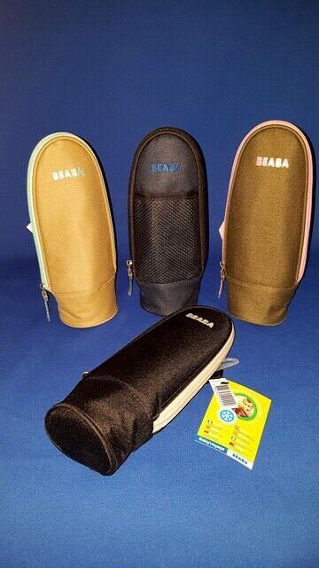 BEABA Baby´voyage Thermo-Flaschen-Tasche mit Karabinerhaken,  verschiedene Farben