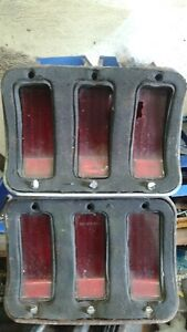 1967-1968 mustang taillights