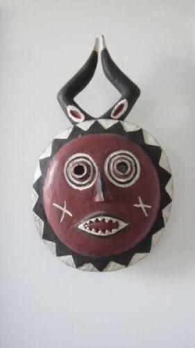 Vintage Ivory Coast Africa  Baule Goli Mask