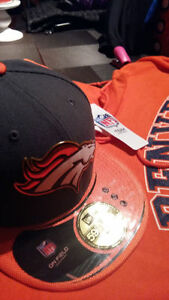 NEW Denver Broncos hoodie and NFL cap (Tags still on)