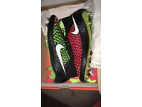 Nike Magista Obra FG Football Sock Boots , 4 pairs. 9.5, 7, 6.5 & 6. All brand new and boxed.