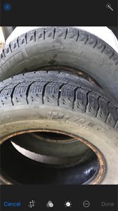 4 Michelin tires size 13in.