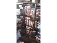 250+ vhs tapes 3x vhs players