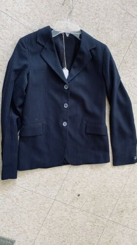 COMPETITION Hunt COAT *Youth 14 NAVY* Pinstripe *VGC