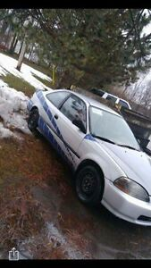 1996 Honda Civic Coupe (2 door)