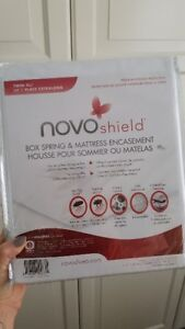 NovoShield Mattress Protector TWIN XL NIB/New/Never Opened