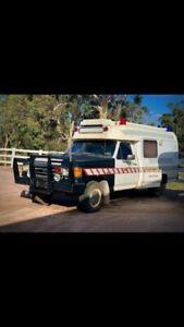 F 250 ambulance collector item