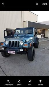 Jeep Wrangler 1999 MANUAL LOW KLMS 115000 URGENT SALE Burleigh Heads Gold Coast South Preview